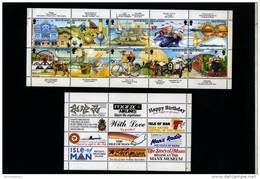 ISLE OF MAN - 1994  TOURISM  SHEETLET    MINT NH + STICKERS - Isola Di Man