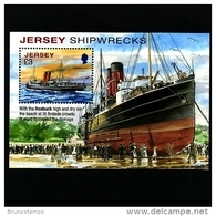 JERSEY - 2011  SHIPWRECKS  MS  MINT NH - Jersey