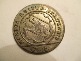 Suisse: Canton De Berne 4 Kreuzer 1798 - Switzerland