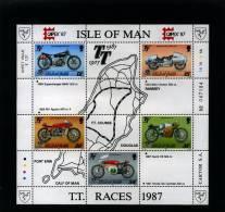 ISLE OF MAN - 1987  CAPEX   MS  MINT NH - Isola Di Man