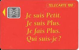 CARTE-PUBLIC-120U-12/1992- F312-SC4-MAGGI-5 Ge 44407-UTILISEE- TBE - France