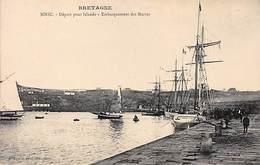 BINIC - Départ Pour Islande - Embarquement Des Marins - Très Bon état - Binic
