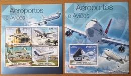 AIRBUS A380 GUINEE BISSAU 2012 NEUF** MNH - Aerei