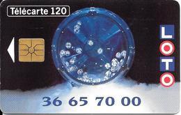 CARTE-PUBLIC-F430-GEMA-LOTO SPORTIF-Avec 2e Logo-UTILISE-TBE - France