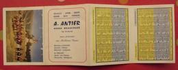 Calendrier De Poche 1975. Volailles Gibiers Beurre Oeufs Fromages  A. Antier. 49 Beaucouzé - Calendriers