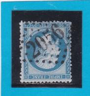 N° 22  GC  2056   LISIEUX / 13- CALVADOS - REF 14616 - 1862 Napoleon III