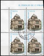 REPUBBLICA 2004 - TEMPIO MAGGIORE - 1 VALORE IN QUARTINA - 2001-10: Usati