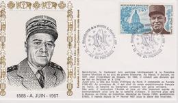 Bureau Temporaire - Aix En Provence - Maison Du Maréchal JUIN - 01/07/1994 - Commemorative Postmarks