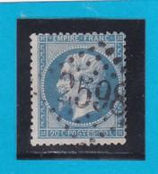 N° 22  GC  2598    NANCY   / 52- MEURTHE - REF 14616 - 1862 Napoleon III