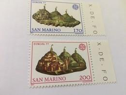 San Marino Europa 1977 Mnh - San Marino