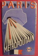 Plan De Paris Métro Exposition 1937 - Europe