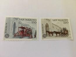 San Marino Europa 1979  Mnh - San Marino