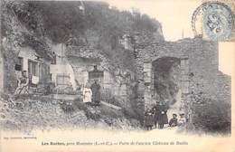 41 - LES ROCHES ( Près Montoire ) Porte De L'Ancien Chateau De Budin ( Bonne Animation )  - CPA - Loir & Cher - France