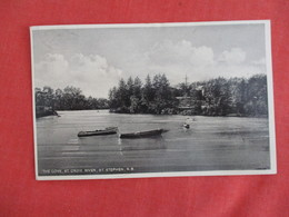 The Cove St Croix River St. Stephen  New Brunswick   Ref 3272 - New Brunswick