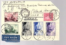 To Mauritius WRONG SENT: Arrival At Back MADAGASCAR! (491) - Poste Aérienne
