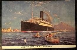 TRANSATLANTICI - TUSCANIA - Barche