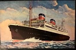 TRANSATLANTICI - U.S. LINES WASHINGTON - Barche