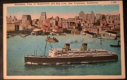TRANSATLANTICI - VIEW SAN FRANCISCO - Barche