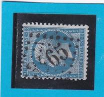 N° 22  GC  3465    STRASBOURG   / 67- BAS-RHIN - REF 14616 - 1862 Napoleon III