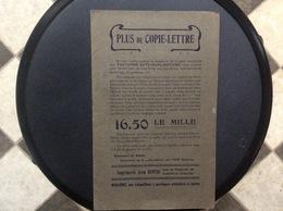 DOCUMENT COMMERCIAL IMPRIMERIE JEAN DUPUIS *Envellopes *Cartes De Visite *Cartes Postales   MARCINELLE-CHARLEROI - Imprenta & Papelería