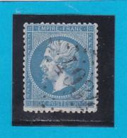 N° 22  GC  4034    TROYES   / 9- AUBE - REF 14616 - 1862 Napoleon III