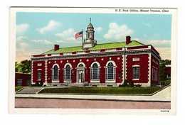 USA Ohio US Post Office Mount Vernon Cpa Carte Ancienne - Etats-Unis