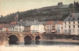 BOUILLON - Le Vieux Pont Et La Place - Bouillon