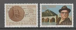 PAIRE NEUVE DE YOUGOSLAVIE - EUROPA 1983 : ECRIVAIN IVO ANDRIC, PRIX NOBEL DE LITTERATURE N° Y&T 1867/1868 - 1983