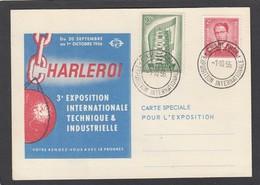 EXPO INTERNATIONALE CHARLEROI 1956. - Belgien