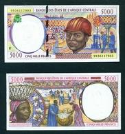 CENTRAL AFRICAN REPUBLIC - 1999 5000 Francs UNC - República Centroafricana