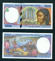 CENTRAL AFRICAN REPUBLIC - 1999 10000 Francs UNC - República Centroafricana