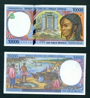 CENTRAL AFRICAN REPUBLIC - 1999 10000 Francs UNC - Centraal-Afrikaanse Republiek