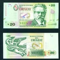 URUGUAY - 2015 20 Pesos UNC - Uruguay