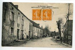 Saint Agnan (Hautefort) Continuation De La Grande Rue - Other Municipalities