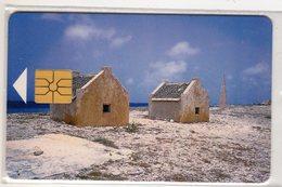 ANTILLES NEERLANDAISES BONNAIRE REF MV CARDS BON-9  SLAVE HUTS - Antilles (Neérlandaises)