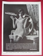 ORIGINAL MAGAZINE ADVERT FOR  WARNERS CORSETS - Other