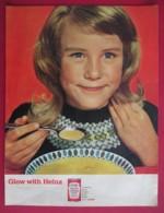 ORIGINAL 1963 MAGAZINE ADVERT FOR  HEINZ CHICKEN SOUP - Other