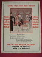 ORIGINAL 1932  MAGAZINE ADVERT FOR ABDULLA CIGARETTES - Other