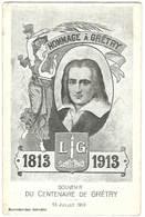 Liège - Hommage à Gretry 1813 - 1913  - Souvenir Du Centenaire De Grétry - Artiesten