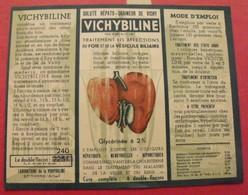 étiquette Eau Minérale Naturelle. Vichybiline. Bassin De Vichy. Saint-Yorrevers 1960 - Werbung