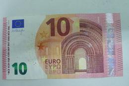 10 EURO NB AUSTRIA DRAGHI N013 E4 RRR!!!! - 10 Euro