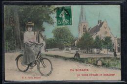 Sceaux - CP Ancienne - De Sceaux Je Vous Envoie Le Bonjour - Voir Scans Recto + Verso - Sceaux