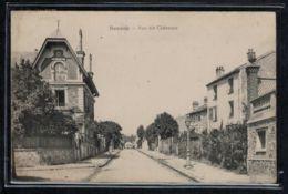 Sceaux - CP Ancienne - Rue Des Cheneaux - Voir Oblitération - Voir Scans Recto + Verso - Sceaux
