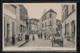 Sceaux - CP Ancienne - Rue Du Four - Voir Oblitération - Voir Scans Recto + Verso - Sceaux