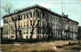 Manual Training School Fort Wayne Indiana 1908 - Schools