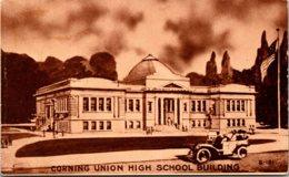 Corning Union High School Building Corning California 1922 - Schools