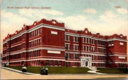North Central High School Spokane Washington 1910 - Schools