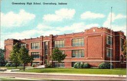 Greenburg High School Greenburg Indiana Curteich - Schools