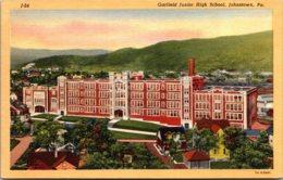 Garfield Junior High School Johnstown Pennsylvania Curteich - Schools