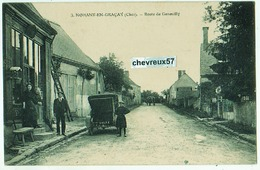 3. NOHANT-EN-GRACAY (Cher). - Route De Genouilly - Frankreich